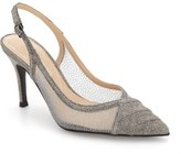 J. Renee Savina Pointed Toe Slingback Pump (Women)