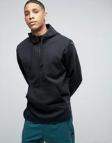 adidas Berlin Pack EQT Half Zip Scallop Hoodie In Black BK7182