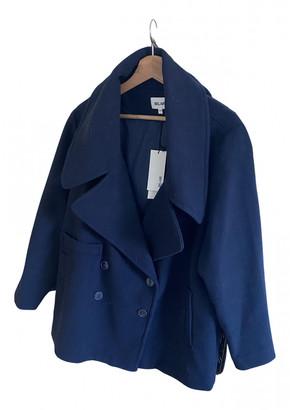 Bel Air Navy Polyester Coats