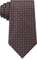 Calvin Klein Men's Modern Medallion Slim Tie