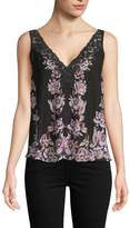 Free People Women's Floral Lace Camisole