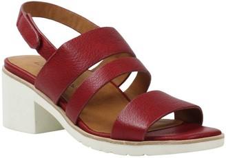 L'Amour des Pieds Leather Sandals - Quennell