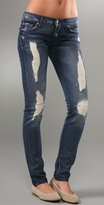 Roxanne Skinny Slimmer Jeans with Liberty Print Lining