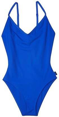 Shan Chiba Scoop Front and Back One-Piece (Lagoon) Women's Swimsuits One Piece