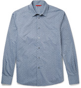 Barena - Cotton-jacquard Shirt