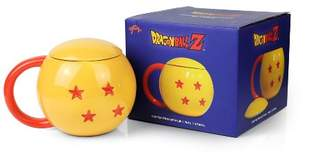 Dragon Ball Z 4-Star Dragon Ball Ceramic Mug With Lid