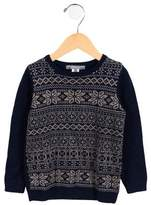 Bonpoint Boys' Patterned Wool Sweater