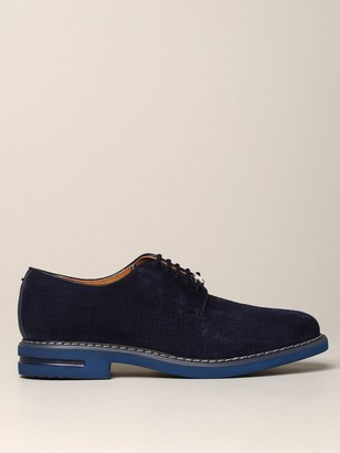 Brimarts Brogue Shoes Brimarts Suede Derby With Rubber Sole