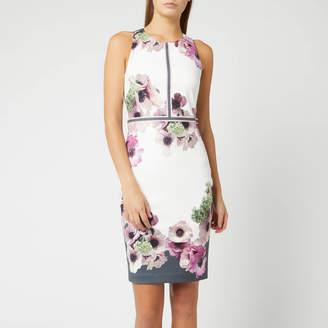Ted Baker Women's Nanina Neopolitan Buckle Detail Dress