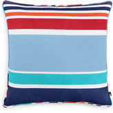 "Tommy Hilfiger Dunmore Stripe 20"" Square Decorative Pillow"