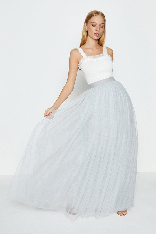 Thumbnail for your product : Coast Tulle Maxi Skirt
