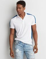 American Eagle Outfitters AE Active Panel Polo