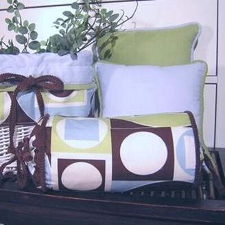 Brandee Danielle Modern Baby Boy Bolster Pillow
