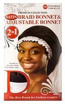 Donna Satin Braid Bonnet & Adjustable Bonnet