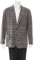 Missoni Striped Wool-Blend Blazer