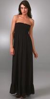 Strapless Smock Long Dress