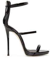 Giuseppe Zanotti Black Patent Coline Sandals