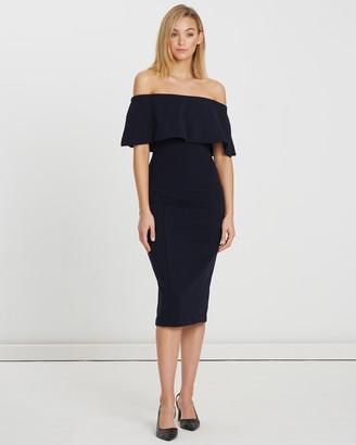 Calli Collette Off-Shoulder Midi Dress