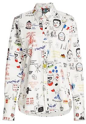 Libertine Marlenes Graffiti Sport Shirt