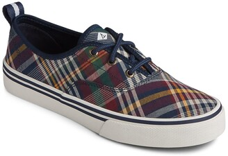 Sperry Crest CVO Plaid Sneaker