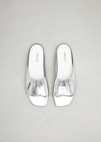 Marsèll silver metallic quadro sandal