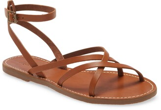 Madewell The Boardwalk Skinny Strap Sandal