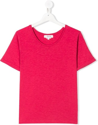Bonpoint TEEN cherry-embroidered T-shirt