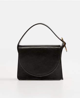 MANGO Tortoiseshell Buckle Bag