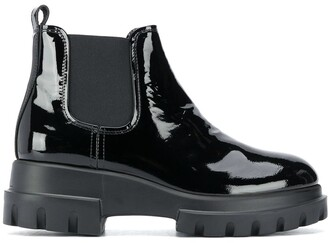 AGL Elasticated Ankle Boots