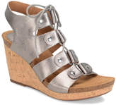 Sofft Women's Sandals ANTHRACITE/GOLD - Anthracite & Gold Carita Leather Sandal - Women