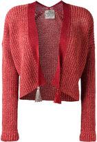 Forte Forte tassel detail open cardigan - women - Linen/Flax/Polyamide/Wool/Alpaca - I