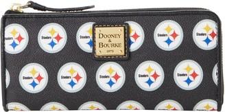 Dooney & Bourke NFL Steelers Zip Clutch