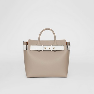 Burberry The Medium Tri-tone Leather Triple Stud Belt Bag