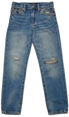 Ralph Lauren Kids Sullivan Slim Stretch Jeans (5-7 Years)