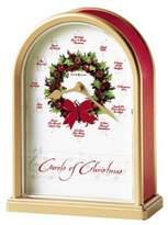 "Howard Miller Carols of Christmas II Table Clock 7 1/2"" x 5 1/2"" x 2 1/2"""