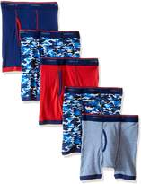 Hanes Big Boys' 5-Pack Sport Inspired Ringer Boxer Brief