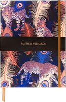 Matthew Williamson Leopardo Large Luxury Notebook