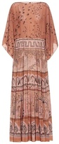 Valentino Printed silk crêpe de chine maxi dress