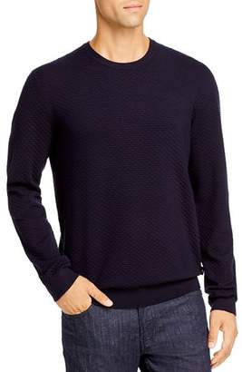 Giorgio Armani Textured Crewneck Pullover Sweater - 100% Exclusive