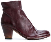 Officine Creative ruched ankle boots