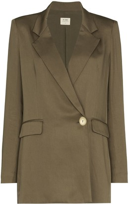 ST. AGNI Single Button Fastening Blazer