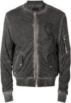 RtA distressed bomber jacket - men - Cotton - S