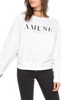 Amuse Society Women's High Society Logo Sweatshirt