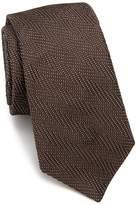 Ike Behar Men's Chevron Silk Tie