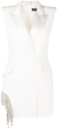 David Koma Fitted Blazer Dress