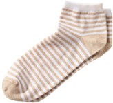 Banana Republic Stripe Bootie Sock