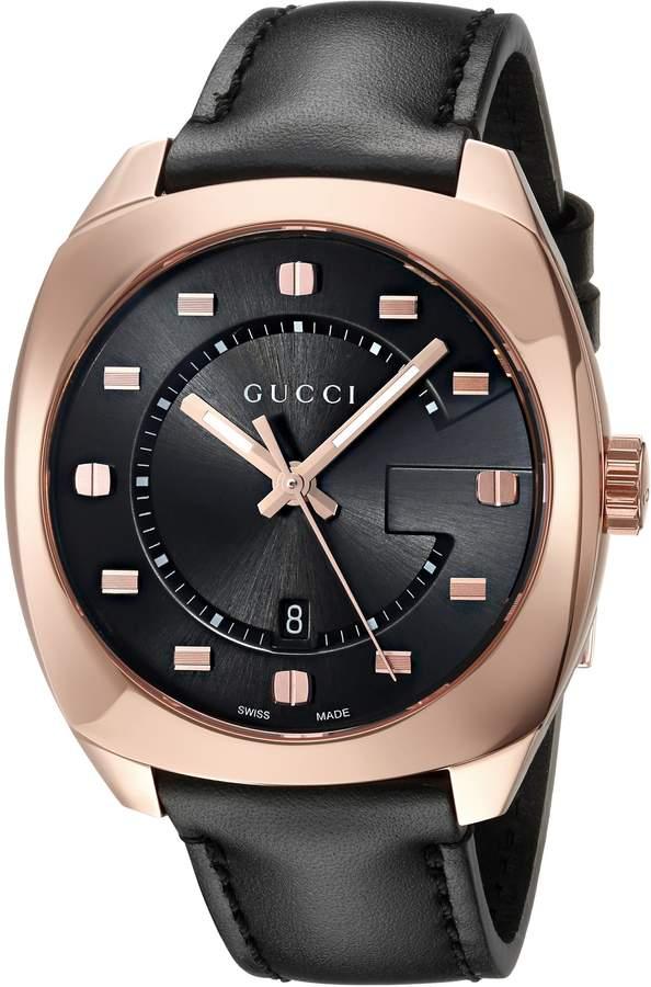 Gucci Men's YA142309 Analog Display Swiss Quartz Watch