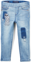 Vigoss Blue All Patch Up Pull-On Jeans - Toddler