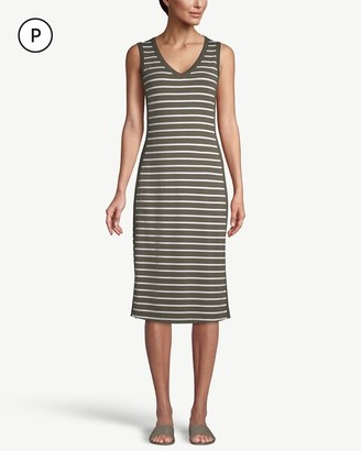 Zenergy Petite Sleeveless Midi Dress