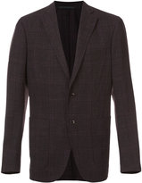 Pal Zileri checked blazer - men - Linen/Flax/Rayon/Wool - 48